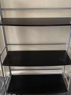 Dark Brown And Silver Shelf for Sale in Washington,  DC