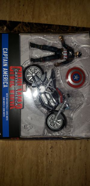 Marvel Legends Avengers Civil War Captain America with Motorcycle for Sale in Elmwood Park, IL