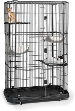 Premium/Deluxe Cat Home, Black NEW! for Sale in Fresno, CA