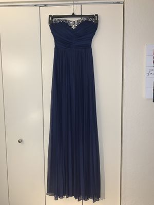 Navy blue prom or bridesmaid dress for Sale in Tempe, AZ