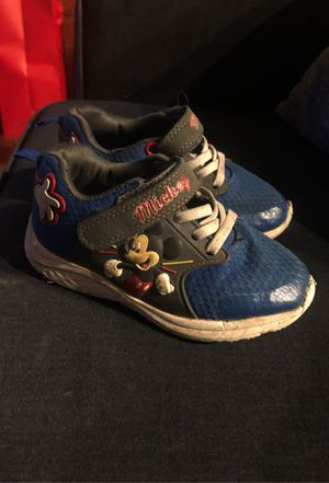 Free Mickey Mouse shoes size 10 for Sale in Lakewood, CO