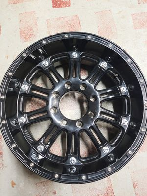 20X9 8X170 4.53BS HOSS 795 GLOSS BLACK - XD WHEELS for Sale in Spring, TX
