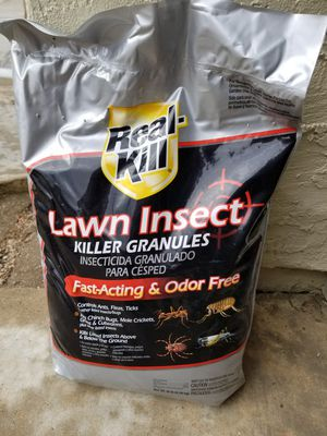 Real-Kill 10 lbs. Insect Killer for Lawns Granule for Sale in Murrieta, CA