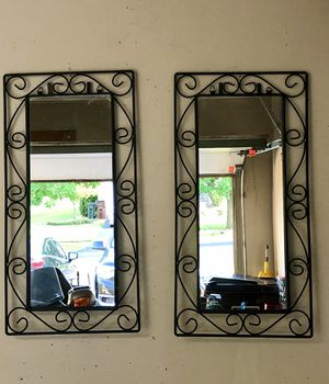 Set of Wall Mirrors 27x14 for Sale in New Lenox, IL