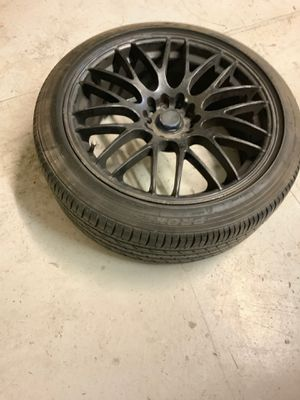 "18"" Black Rims and Tires for Sale in Carmichael, CA"