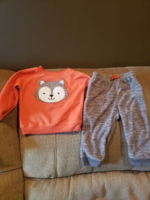 12 month carters fleece outfit for Sale in Riverdale, IL