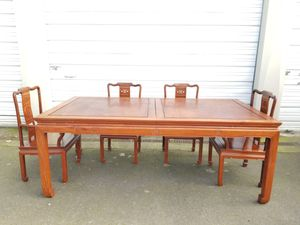 Antique Asian rosewood table for Sale in Seattle, WA
