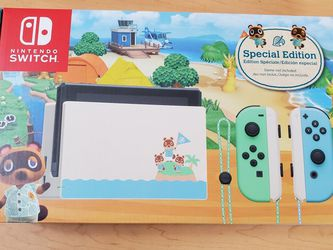 Nintendo Switch Animal Crossing Special Edition for Sale in Long Beach,  CA