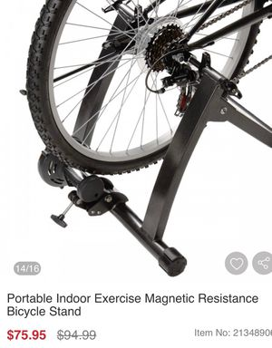 Portable bike stand for Sale in Rancho Cucamonga, CA