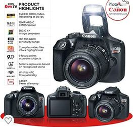 Canon Eos Rebel for Sale in Bartow,  FL