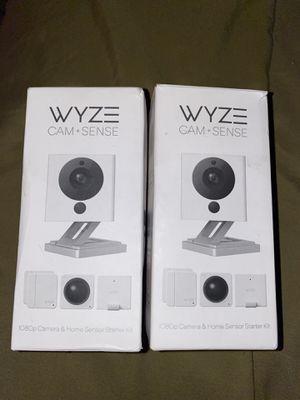 WYZE CAM+SENSE v2 Starter Kit Bundle for Sale in North Las Vegas, NV