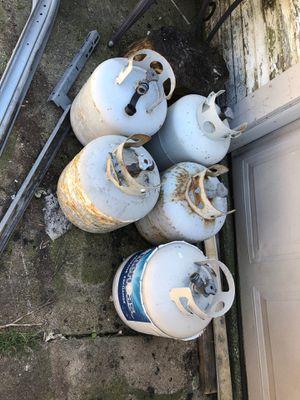 Gas propane tank, empty $10 each for Sale in Cicero, IL