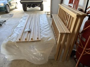 Bunk Beds. Lightly used Solid Maple. for Sale in Clovis, CA