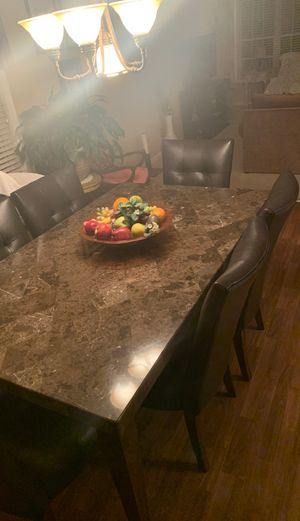 Marble table and chair set for Sale in Lawrenceville, GA