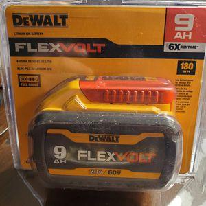 New Dewalt 9ah FLEXVOLT Battery for Sale in Annapolis Junction, MD