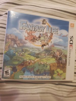 Fantasy Life Nintendo 3DS Video Game for Sale in Palm Shores, FL