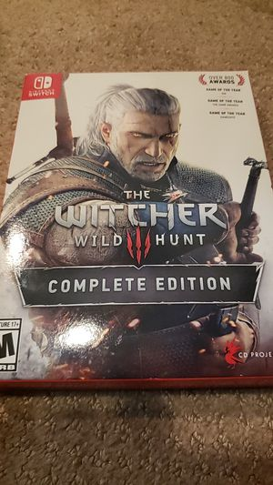 The witcher 3 Complete edition Nintendo Switch for Sale in Alexandria, VA