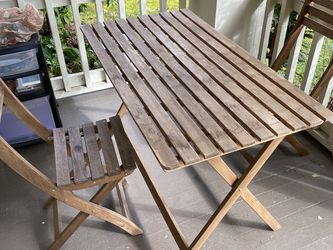 IKEA Askholmen Patio Table And Chairs for Sale in Portland,  OR