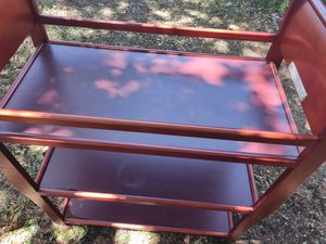 Baby changing table it's in good condition for Sale in Richardson, TX