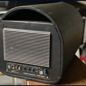 Audiobahn 10in Car Audio Amp Subwoofer for Sale in Perris, CA