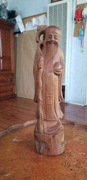Wood statue for Sale in Los Angeles, CA