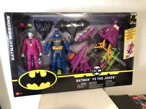 Batman vs Joker Batman Missions by Mattel New in Box for Sale in Garland, TX