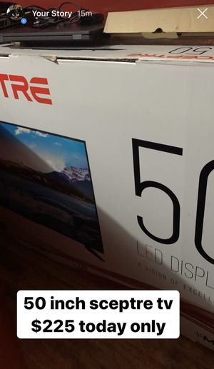 50 inch tv for Sale in Baltimore, MD