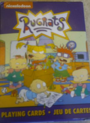 RUGRATS complete box of playing cards for Sale in Chandler, AZ