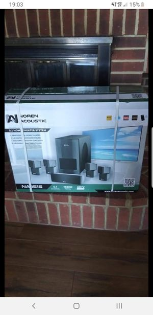 "Projector, 72"" screen, and sound system for Sale in Appomattox, VA"