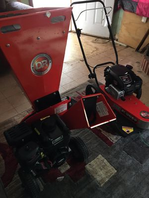 Chipper and brush trimmer for Sale in Tyler, TX