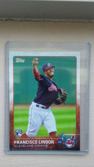 Francisco Lindor RC baseball cards for Sale in Kissimmee, FL