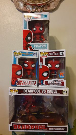 Spiderman..and big box of Deadpool vs cable. for Sale in Queens, NY
