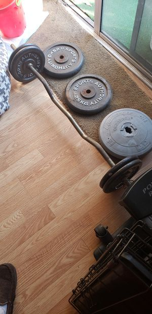 Bar and weights for Sale in Anaheim, CA