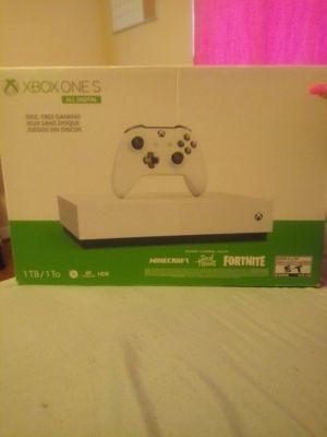 Xbox one all digital 1yr code included for Sale in Greensboro, NC