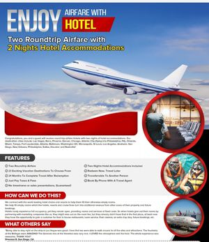 DISCOUNT AIR TRAVEL AND HOTELS 70% OFF!! for Sale in Waltham, MA