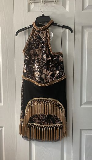 Akira rose gold dress! NEVER WORN for Sale in Chicago, IL