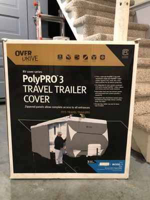 New price!! Overdrive camper/travel trailer cover, up to 20 ft for Sale in Seattle, WA