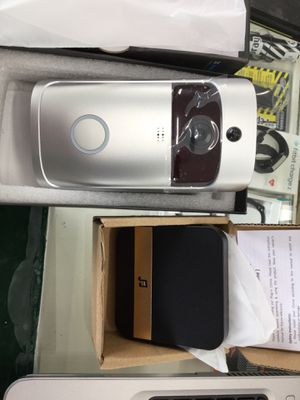 X Smart home wireless home wireless video doorbell silver opened box for Sale in Corning, OH
