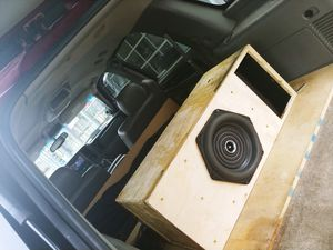 Subs amp and wheels for Sale in Silver Spring, MD