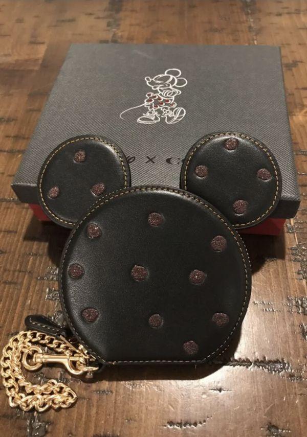 Disney x Coach small purse Wristlet wallet
