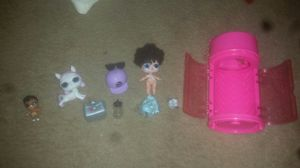 Lol suprise doll miss jive w/outfit and shoes lol Lil sis & lol pet and accessories for Sale in Etowah, OK