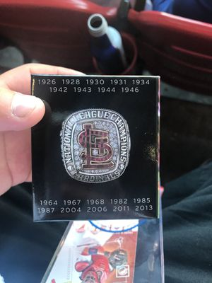 2013 National league champions mystery Ring!! for Sale in St. Louis, MO