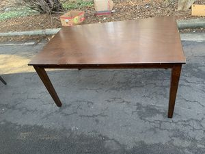 REAL WOOD TABLE for Sale in Snellville, GA