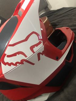 FOX Helmet VL REVN FLAME RED for Sale in San Jose,  CA