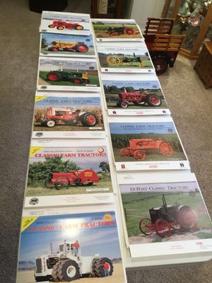 Tractor calendars for Sale in Shorewood, IL