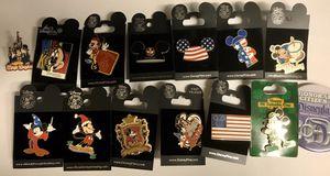Disneyland Resort Pins Disney Pins 14 Pins Mickey Mouse for Sale in Huntington Beach, CA