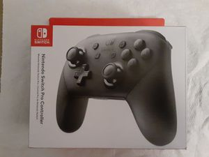 Nintendo Switch Pro Controller Sealed Brand New NEVER OPENED Never Used for Sale in Braintree, MA