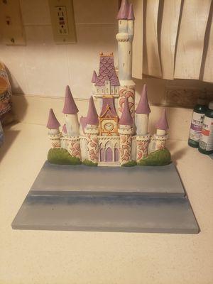 Disney princess castle jim shore for Sale in Joliet, IL