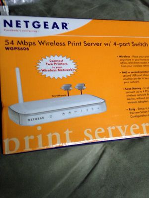 Netgear wireless print server for Sale in Stow, MA