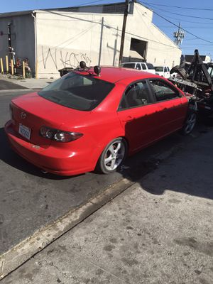 2008 Mazda 6 partes vendo parts for only for Sale in Los Angeles, CA